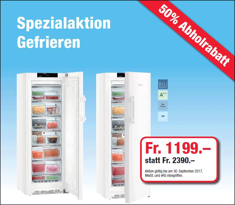 Spezialaktion Gefrieren GNP 3755 Premium BluePerformance 50% Abholrabatt