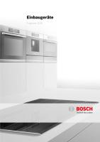 Bosch Einbaugerate